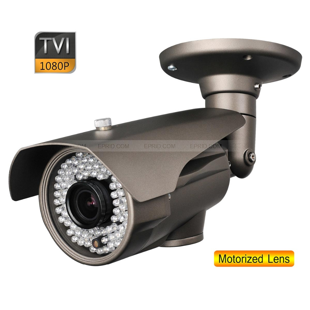 1080P 2.0MP 2.8-12mm Motorized Lens Security HD-TVI Bullet Camera OSD Board 84 IR