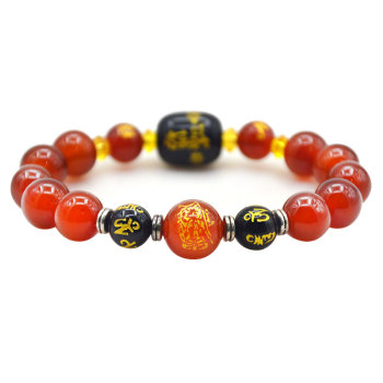 Fengshui Huatai sui wealth Bracelet Wealth & Good Luck bead Gemstone Bracelet Good Quality Home Decor