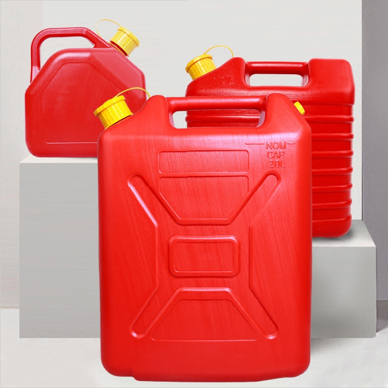ABS engineering plastic explosion proof oil drum 10L Car spare fuel tank Barrels of gasoline Anti static fireSpare petrol bucket
