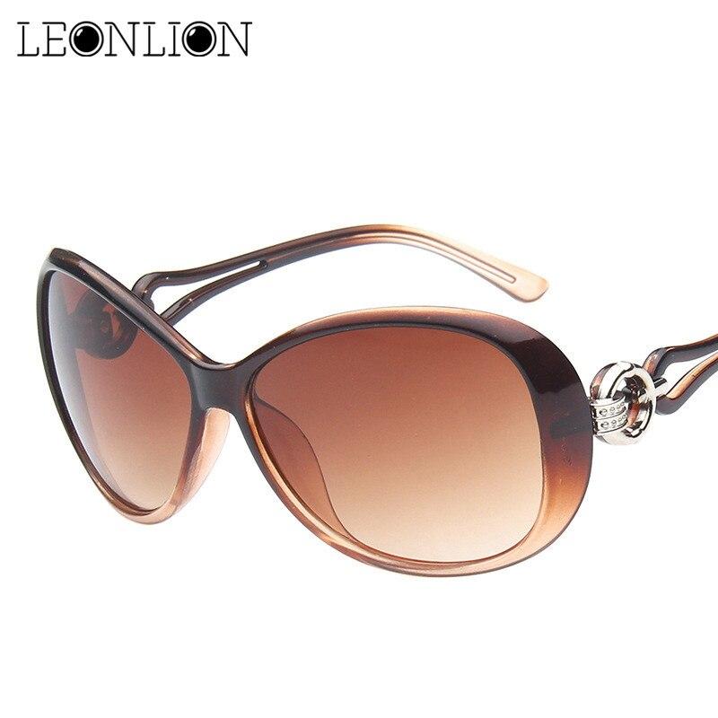 LeonLion 2019 Classic Gradient Sunglasses Women Brand Designer Vintage Oversized Sun Glasses UV400 Oculos De Sol Feminino