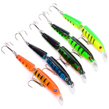 1PCS 10.5cm-9.6g Jointed Wobblers Fishing Lure Minnow Carp Fishing artificail Hard Bait