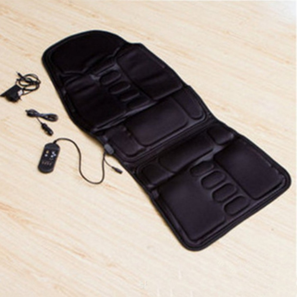 Electric Multifunctional Chair Massage Pad Car Chair Home Full-Body Neck Back Lumbar Shiatsu Massager Chair Relax Seat Pad