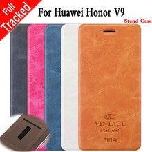 Для Huawei Honor V9 откидная крышка Mofi роскошный старинный кошелек кожаный чехол для Huawei Honor 8 Pro/V9 бизнес Обложка книги MF3