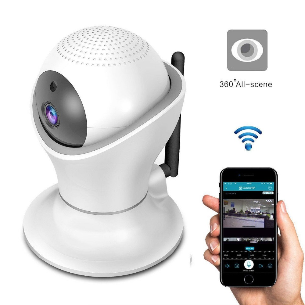 360 Rotation PTZ Wireless Camera WiFi Remote Monitor Smart Home Security Surveillance Network HD Video Camera wireless wifi surveillance camera smart home wireless network hd monitor wireless mobile monitoring camera 2016 hot selling item
