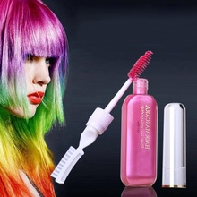 13 color Fashion Colors Party Queen Temporary Vibrant Glitter Instant Highlights Streaks Hair Color Mascara Dye Creamxgrj