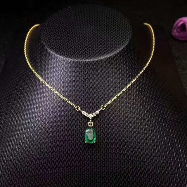 Natural Grandmother Necklace 5 7mm 925 Sterling Silver Exquisite