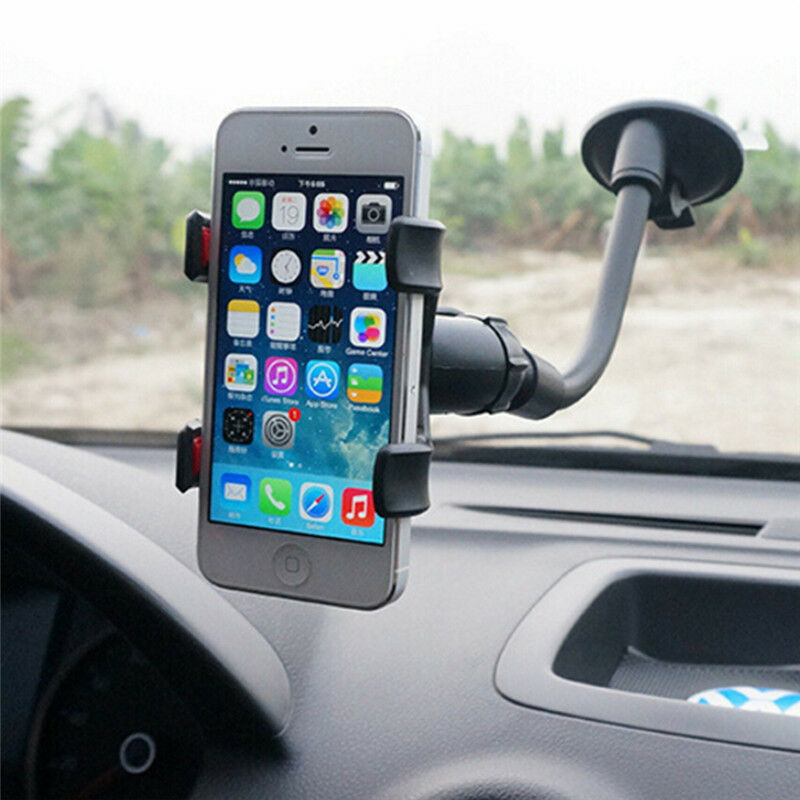 Universal 360 Degree Car Windscreen Dashboard Holder Mount For GPS Mobile Phone Clip Suction Cup Phone Holder In Car