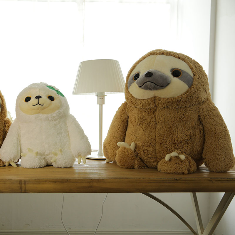 70cm Simulation Sloth The Baby Doll Cute Sloth Plush Toys Stuffed Dolls & Stuffed Toys Kids Toys Best Gifts For Girlfriend bookfong octopus plush toys dolls the cute pillow seat cushion backrest the stuffed toys for children christmas gifts