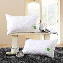 Home bedding rectangle Pillow health care cervical neck 48*74cm Hollow Fiber pillows Core
