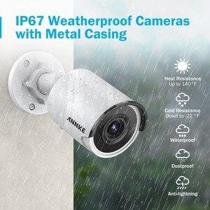 Image 5 - ANNKE système de sécurité vidéo réseau POE Ultra HD 8CH 4K h265 + NVR 8MP, avec caméra IP pour lextérieur, Vision nocturne, 8 pièces, 30m EXIR
