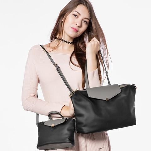LOVEVOOK handbags women bag large female shoulder crossbody bag small ladies messenger bags high quality PU leather bag set Karachi