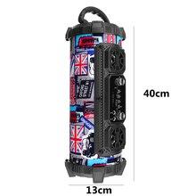 20W Outdoors Portable Wireless Bluetooth Subwoofer Speaker Sport 3D Stereo Caixa De Som Speaker TF Card Big Bass Loundspeaker
