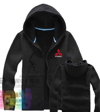 d3bbb922cd8 Mitsubishi hoodie clothes zipper cardigan sweatshirts aftermarket auto 4S  shop repairman custom clothing