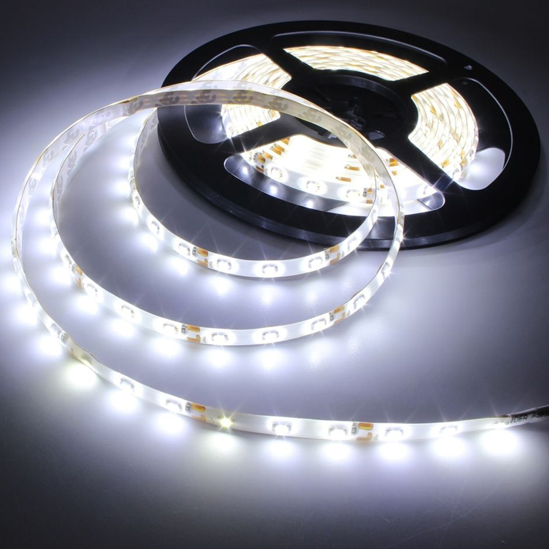 1PC 5M 300LED SMD 3528 Super Cool White Flexible Strip Light New