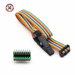 New Arrival Testing Clip SOP16 SOP SOIC 16 SOIC16 Pin IC Test Clamp SOP16 to DIP8 Flash Clip for 25 series RT809F TL866CS TL866A