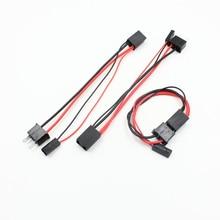 FSYLX 2x H7 male to female HID Bi-xenon fog headlight connector cable H7 hid xenon headlight socket Adapter wire harness
