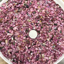 1kg Natural Crystal Rubellite Red Tourmaline Gravel Rock Quartz Raw Gemstone Mineral Specimen Fish Tank Graden Decoration Stone