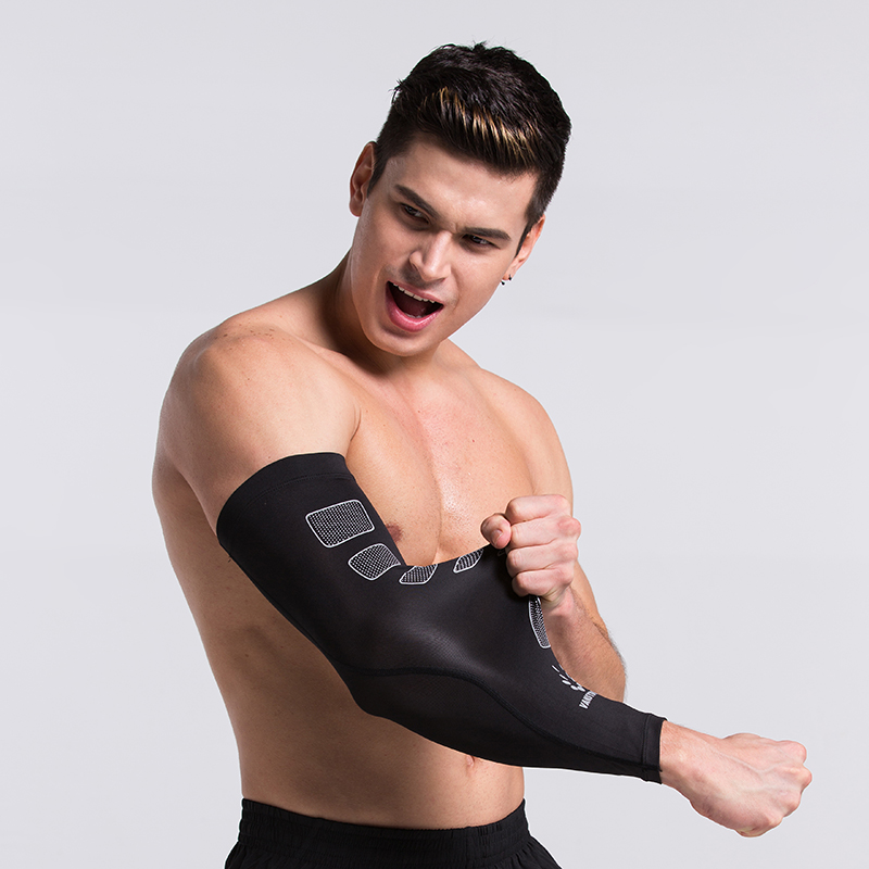 1 Pair Sleeves Printed Armwarmer Sleeves Arm Warmers UV Protection Breathable Arm Sleeves Covers