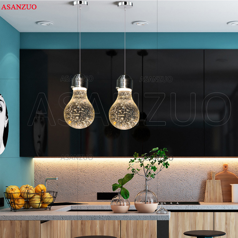 New Modern Water drop Bubble LED  crystal pendant light  warm romance bedroom dining room bar hang lamp 110-240VNew Modern Water drop Bubble LED  crystal pendant light  warm romance bedroom dining room bar hang lamp 110-240V