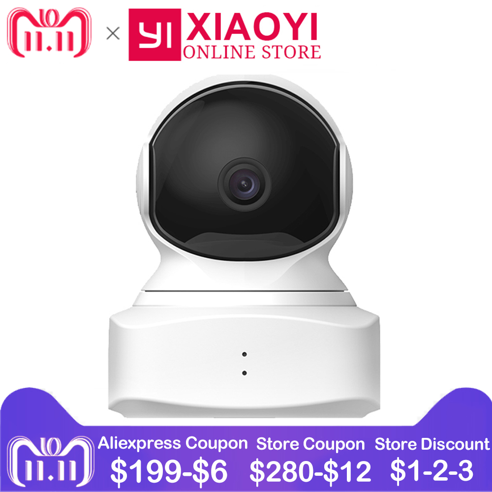 все цены на Xiaomi YI Cloud Dome Camera Wifi IP Camera Pan/Tilt/Zoom 1080P HD Baby Monitor Home Surveillance Security Camera Night Version
