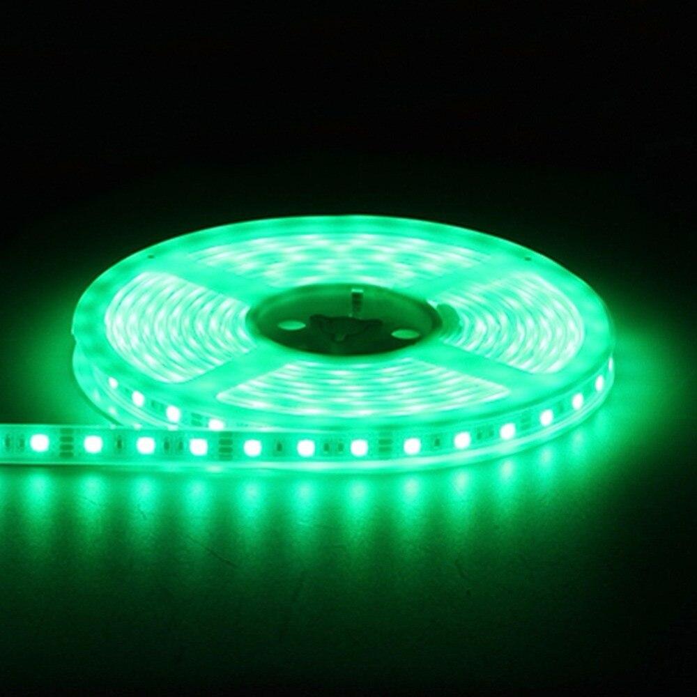 led strip light 5050 silicon tube waterproof ip67 ip68 dc12V 300led 5m RGB white warmwhite red blue green3000k6500k tape rope