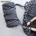 25/60 м ручное Тканое одеяло  круглая пряжа  грубая линия вязания  ручная вязка  шерстяное одеяло  пряжа для дома BK003