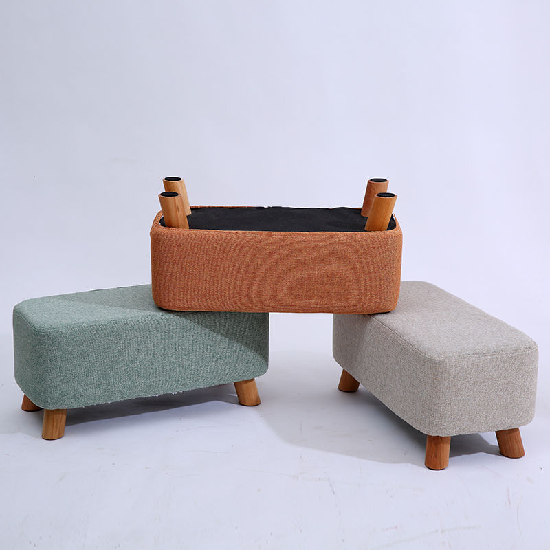 Household Lengthen Multi-person Change Shoe Bench Modern Simple Living Room Sofa Stool Creative Footrest Low Stool Safe Durable