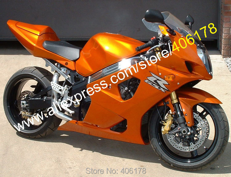 Hot Sales,For Suzuki 2003 2004 GSX-R1000 K3 GSXR 1000 03 04 GSXR1000 Orange ABS Motorcycle Fairing Body Kit (Injection molding) hot sales sv650 03 04 05 06 07 08 09 10 11 12 13 fairings for suzuki sv650 2003 2013 sv650s black abs motorcycle fairing set