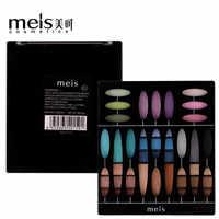 MEIS Fashion eyeshadow palette 27Colors Matte EyeShadow Shimmer palette Glitter eye shadow MakeUp Nude MakeUp set Cosmetics 2701