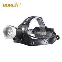 BORUIT B13 1xCREE XM L2 1200 Lumens 3 Mode USB LED Headlamp (2x18650) Only Headlamp