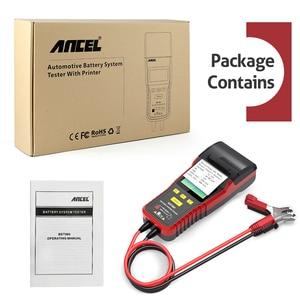 Image 5 - Ancel BST500 12V 24V Car Battery Tester Analyzer Automotive Car 24V Truck Battery Tester Tool 100 to 2000 CCA Built in Printer