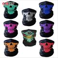 Seamless multi-functional magic scarf riding masks keep warm around neck skeleton face towel motorcycle masks 55cm*30cm*40cm