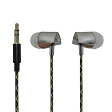 qijiagu High Quality 1.2m Wired In-Ear Music Earphones for Smartphones