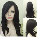 Women Fashion Natural Wave Hair Wigs For Black Women Long Synthetic Wigs Black  Perruque Drag Queen Wigs Peruk African Wigs