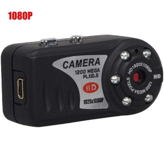 Новые HD 1080 P Mini DV DVR Видеокамера ИК Ночного Видения мини DVR Видеокамер T8000 QQ6 Маленький DV Y2000 PK MD80 Бесплатная доставка