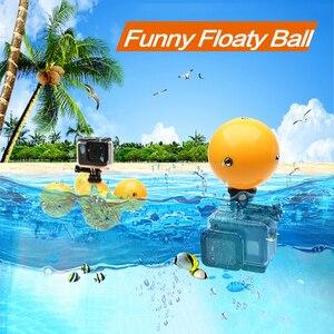 Плавучий шар для Gopro Hero 8, 7, 6, 5, 4, Xiaomi yi, 4k, Go pro, спортивные аксессуары для экшн-камер mijia