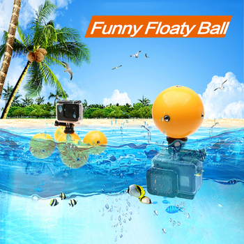 Water Floaty Holder Buoyancy Ball For Gopro Hero 8 7 6 5 4 Xiaomi yi 4k Go pro Session mijia Action Sport camera Accessories