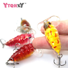 1Pcs Fly fishing Lure Pesca  Insects Hrad Bait Bass cicada isca artificial 4cm 4.2g Lures Crankbaits Carp fishing WQ206