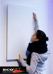 Ecoart nowy 450 watt biały ścienny panel grzewczy na podczerwień wysokiej jakości hurtowych domu grzejniki