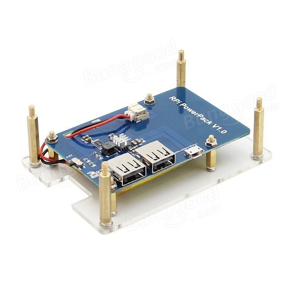 Lithium Battery Expansion Board For Cellphone / Raspberry Pi 3 Model B / Pi 2B / B+ raspberry pi 3 digital sound card hifi digi expansion board i2s spdif module acrylic case for raspberry pi 2 for raspberry pi b