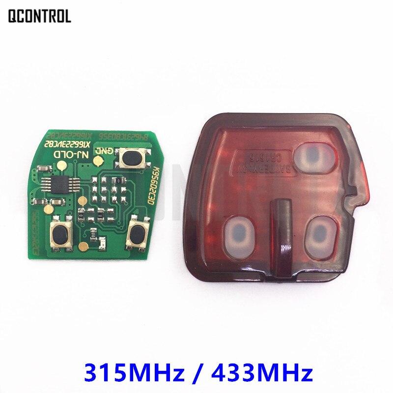 QCONTROL Remote Key Internal Core Assembly for MITSUBISHI Car Outlander Pajero Triton ASX Shogun 315MHz or 433MHz