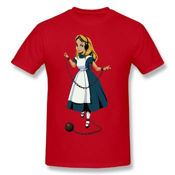T-shirt Alice enchaînée
