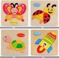 Розничная Детские Дети Образования Деревянные Игрушки Головоломки для Детей 15*15 см brinquedos educativos игрушки Головоломки для детей