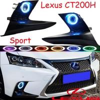 Спортивный стиль, 2014 ~ 2016 Lexu CT200 туман, Бесплатная доставка! галогенные, CT200 фар, ES250 ES300, GS350, GS460, GX460, RX300, CT200 день лампы