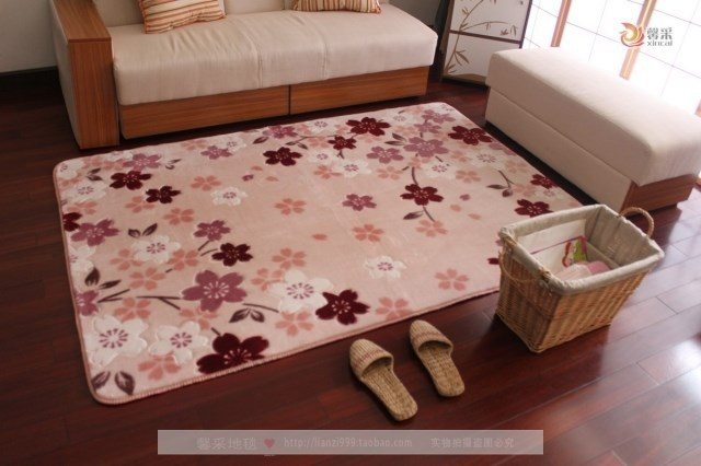 New Arrival Area Carpets for Living Room and Bedroom Chic cherry ...
