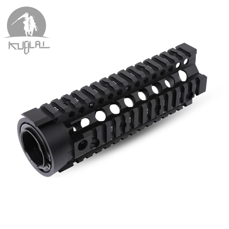 US Hunting 6.7 inch Carbine Length 2 Piece Drop-In Handguard Picatinny Rail