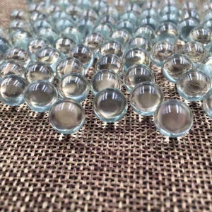 Image 1 - 1000pcs/pack/lot different size OD 1mm to 6mm Glass Ball sand grind bead for Laboratory experiments