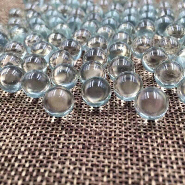 1000pcs/pack/lot different size OD 1mm to 6mm Glass Ball sand grind bead for Laboratory experiments