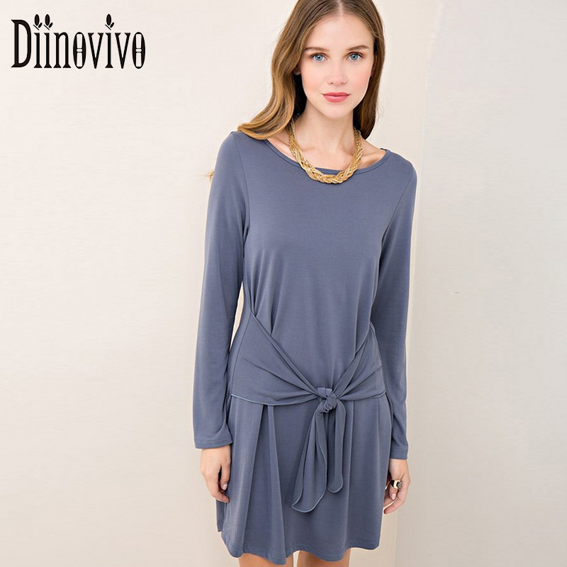 Women Sashes Sweater Knitted Dress Sexy Round Neck Long Sleeve Elbise  Designer Vestidos Casual Straight Tunic Dresses SWS054 цена