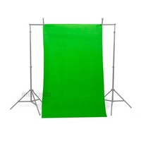 3m x 3m Photographic Backdrop Background Cotton Cloth Seamless gray / bule / green / white / black for Photography Studio